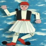 Κατασκευή Μαριονέτα Τσολιάς Για Την 25η Μαρτίου