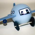 Πασχαλινή Κατασκευή Με Αυγό σε Σχήμα Αεροπλάνου