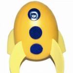 Πασχαλινή Κατασκευή-Αυγό Σε Σχήμα Πυραύλου