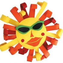 Ανοιξιάτικη Κατασκευή Ήλιος