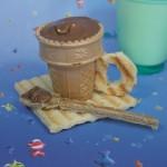 Σοκολατένιο Φλιτζανάκι με Παγωτό