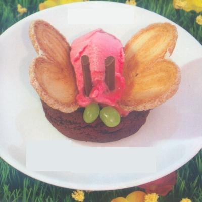 Παγωτό Πεταλούδα με Cookies