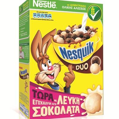 Νέα Συνταγή Δημητριακά Νesquik Duo της Νestle