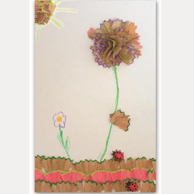 Πίνακας από Ξύσμα Μολυβιού