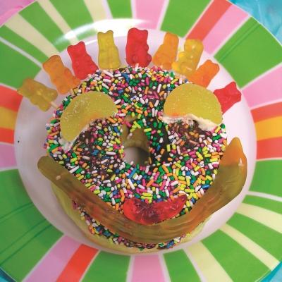 Ντόνατς με Ζαχαρωτά