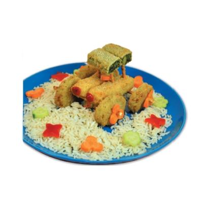 Πιάτο Λαχανικών Αυτοκινητάκι