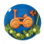 Μπουκιές Λαχανικών σε Σχήμα Ποδήλατο