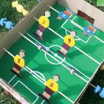 Κατασκευή για Αγόρια, Ποδοσφαιράκι από κούτα