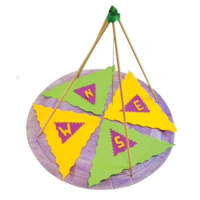 Κατασκευή Πυξίδα για Παιδιά