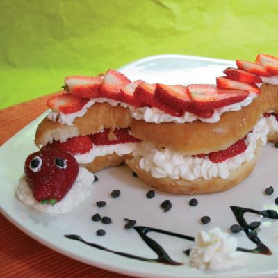 Γλυκό για Παιδιά με φράουλες