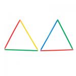 Σχημάτισε 8 τετράγωνα από 2 τρίγωνα
