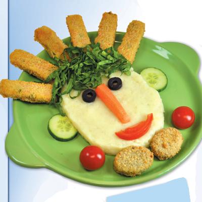 Πουρές πατάτας με λαχανικά