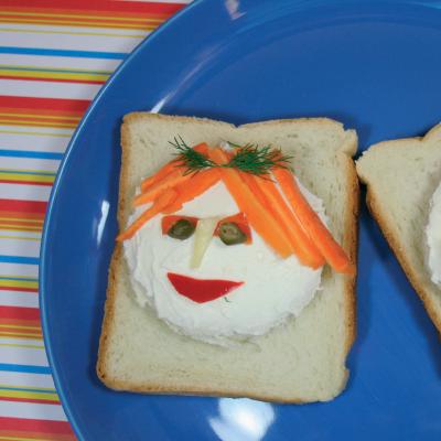 Απογευματινό Σνακ για παιδιά με τυρί Φατσούλες
