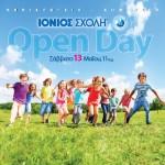 OPEN DAY Ιόνιος Σχολή:Το ταξίδι στη γνώση ξεκινά με γιορτή!