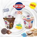 Γιαούρτια Κρι Κρι kids με Peppa & Scooby Doo