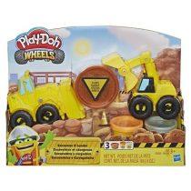 kidsfun.gr- photo-nea- ekdhlwseis- Play-Doh Wheels Φορτηγά Οχήματα Κατασκευών (Εκσκαφέας και Φορτωτής) 2