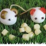 Υγιεινό Σνακ για Παιδιά Ποντικάκια με Αυγά