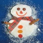 Χριστουγεννιάτικη Συνταγή για Κέικ Χιονάνθρωπος