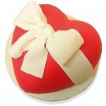 Τούρτα Γενεθλίων Καρδιά Σοκολάτας