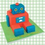 Τούρτα Γενεθλίων Σοκολατένιο Ρομπότ