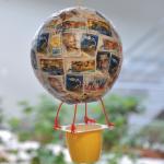 Κατασκευή για Παιδιά Αερόστατο με Γραμματόσημα