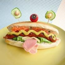 Σπιτικό Σνακ hot dog για Παιδιά
