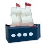 Κατασκευή Πειρατικό Καράβι με Κουτί από Γάλα