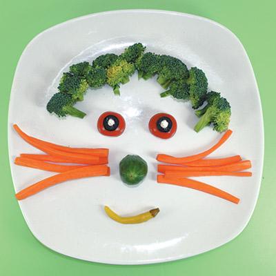 Λαχανικά σε Σχήμα Προσώπου