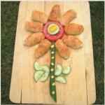 Λουλούδι με Τυροπιτάκια